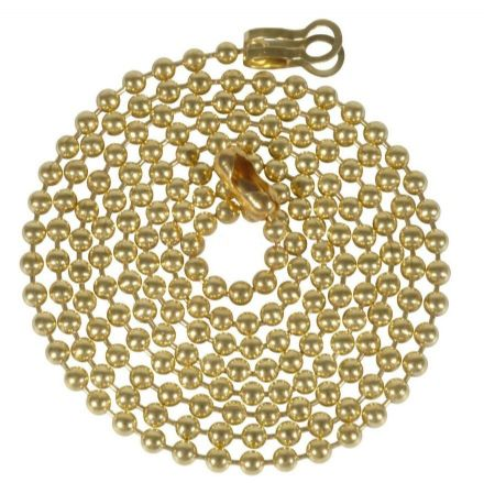 WML Polished Brass 100cm Extension Chain